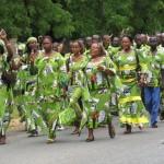 Défilé des enseignants - Crédit photo: stooffyenafrique.blogspot.com