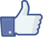 « Facebook like thumb » par Enoc vt via Wikimedia Commons Sous licence Public domain