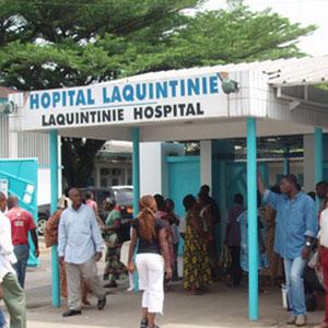 Hôpital Laquintinie - Crédit photo: camer.be