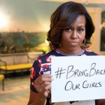 Michèle Obama et le #BringBackOurGirls - Crédit photo: mashable.com