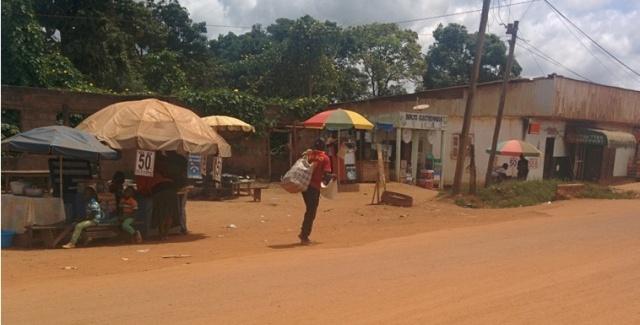 La ville de Ntui