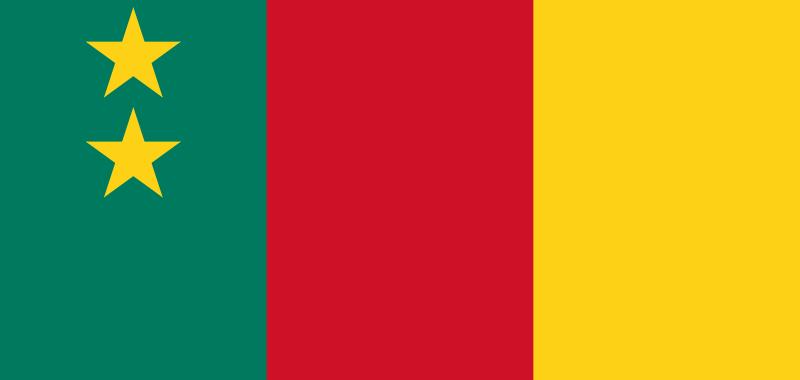 Drapeau du Cameroun fédéral - Crédit photo: camfaith.org