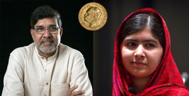 Les Prix Nobels de la Paix 2014 - Crédit photo: lapauseinfo.fr