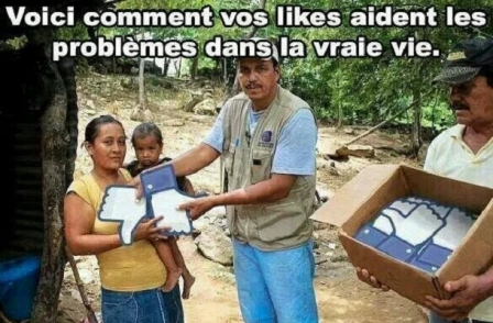 No further comment - Photo chipée sur facebook