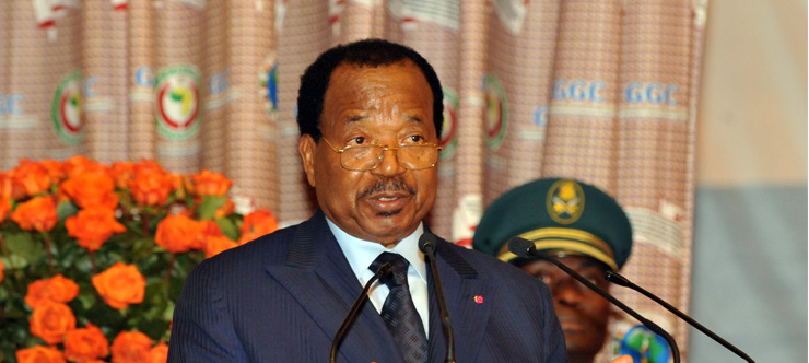 Sa majesté Paul Biya, roi du Cameroun - Crédit photo: prc.cm