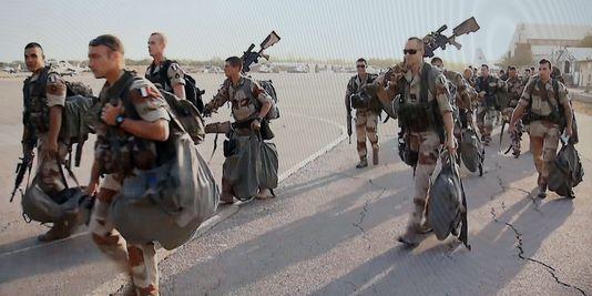 De grâce, gardez vos soldats chez vous, nous n'en voulons pas - Crédit photo: lemonde.fr