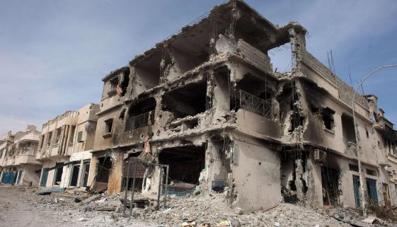 La Libye, après avoir reçu l'aide de la France - Crédit photo: myeurop.info