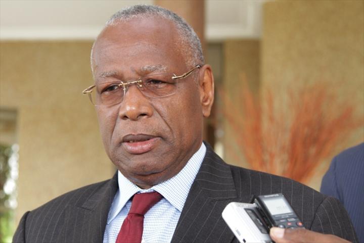 M. Abdoulaye Bathily, le représentant du secrétaire général de l'ONU pour l'Afrique, centrale, par qui les félicitations nous ont été adressées - Crédit photo: dakaractu.com