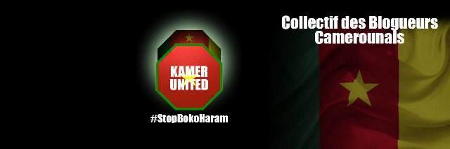 Le logo de la campagne #StopBokoHaram  - Crédit photo: Collectif des Blogueurs Camerounais