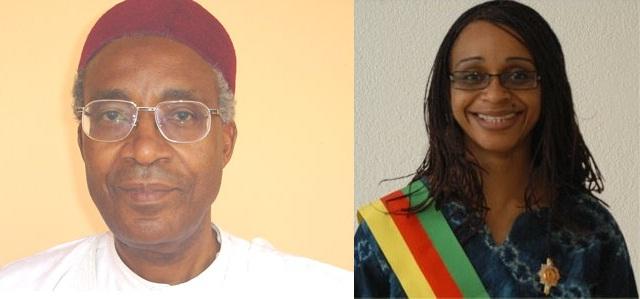 Adamou et Patricia Ndam Njoya