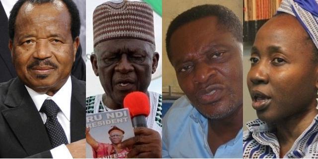 Leaders politiques camerounais