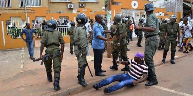 Ne sisciayez pas seulement les civils, veniez aussi siscia les braqueurs quand ils nous agressent! - Crédit photo: cameroun24.net