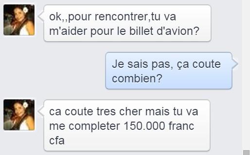 Même si tu étais à Douala je ne t'aurais as envoyé 5000 pour le transport...